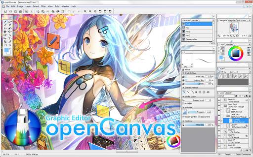 OpenCanvas 7 Crack With Activation Code