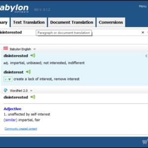 Babylon Translator Pro NG Crack