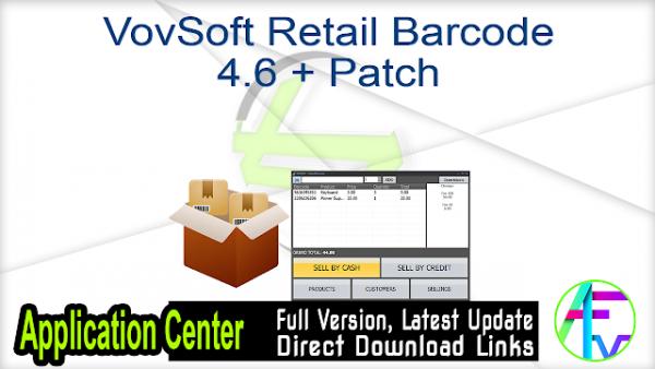 VovSoft Retail Barcode Crack