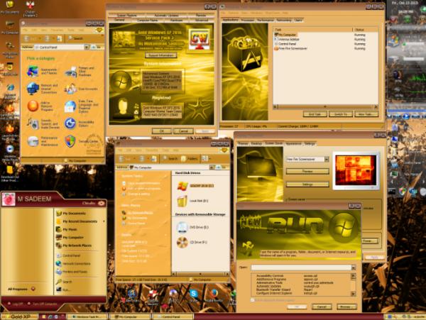 Gold Windows XP SP3 Registration Key