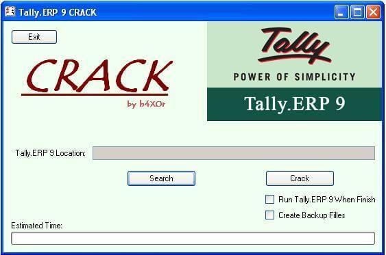 Tally ERP 9 Crack Registration Key
