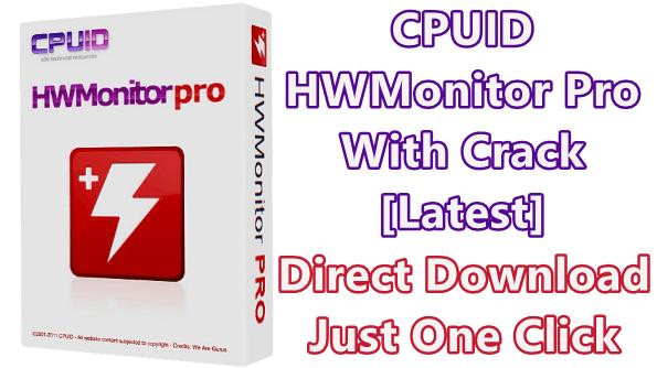 CPUID HWMonitor Pro Crack Registration Key